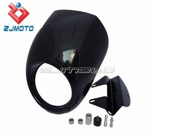 Universal  Headlight Fairing Motorcycle Headlamp Fairing Suitable For 9mm Front Fairing