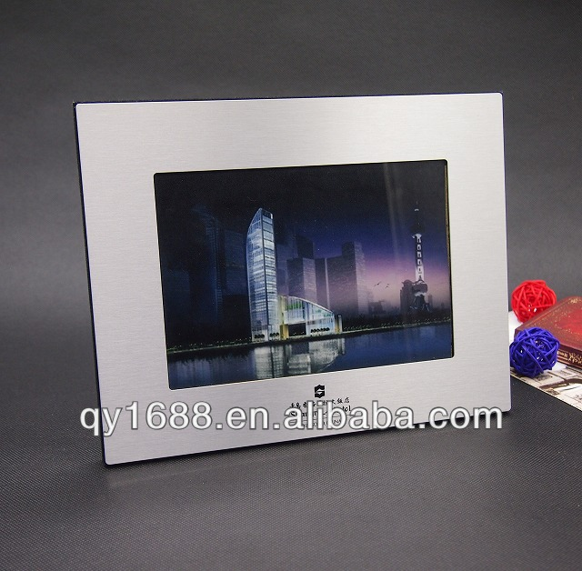 Wholesale Brushed Silver Plated Photo Frame