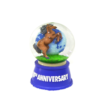 High Quality glass craft promotion water globe gift For Girls