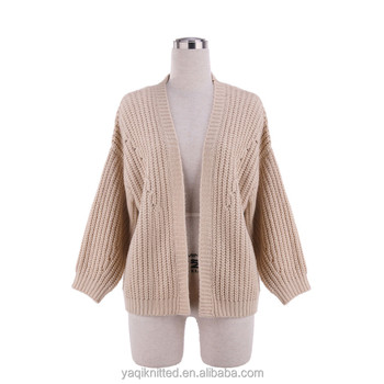 ec198d329a46 Batwing-sleeved Casual Beautiful Knitwear Knitting Design For Womens ...