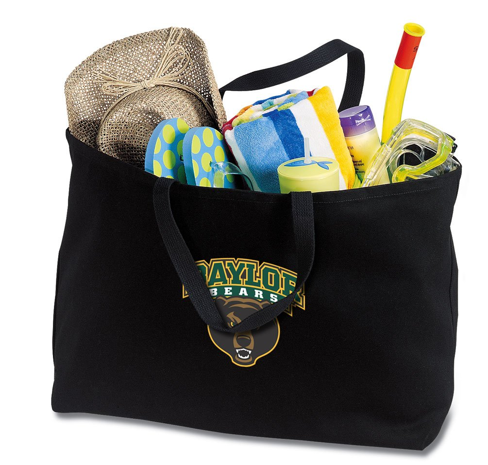 JUMBO Baylor Tote Bag or Large Canvas Baylor University Shopping Bag