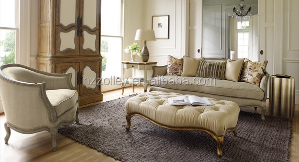 Agreable Moderne Lin Velours Chesterfield Canapé Arabe Salon Canapés Chesterfield 2  Tissu Canapé