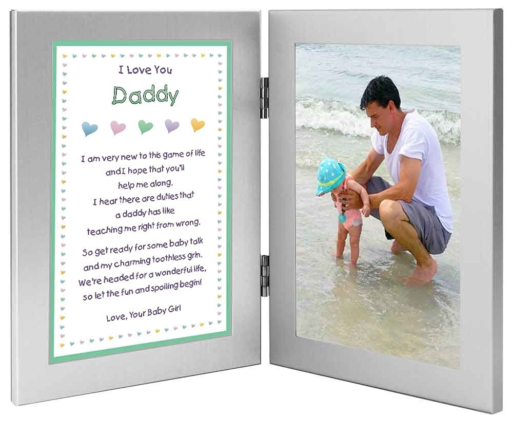 Buy Daddy Gift New Dad Sweet Poem From Baby Daughter Or Son Add