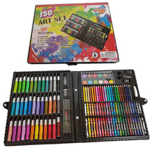 JF88878 150PCS 150 pieces drawing toys Deluxe Art watercolor painting kit for kids children