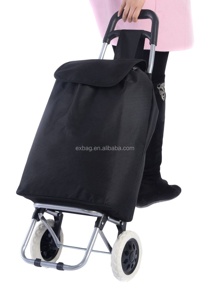 FoldableTrolley Shopping Bags with wheels