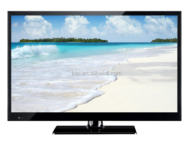 satellite tv for 19 inch led tv with DC 12V Adapter for solar led tv 19 inch with cheap price