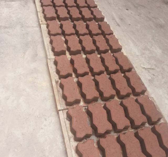 Interlocking Brick Pavers Classy Hydraulic Concrete Cement Interlocking Brick Block Making Machine