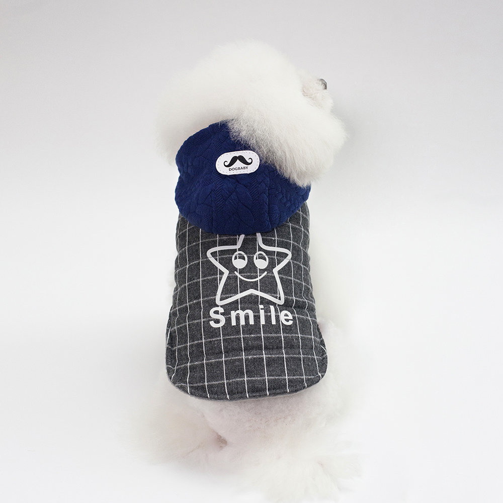 Winter Blank Dog Clothes Chinese Traditional Dog Clothes Cotton Dog hoodies