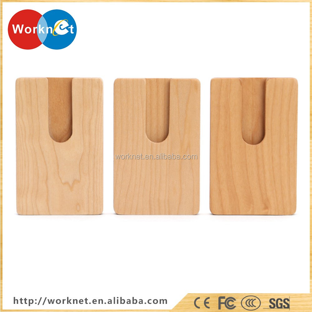 China Manufacturer Cherry Wood Name Card Case Wooden Name Card Box ...