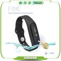 2016 Touch Screen Smart Band Wristband E06 Bracelet Fitness Wearable Tracker Waterproof IP57 Bluetooth Watch for