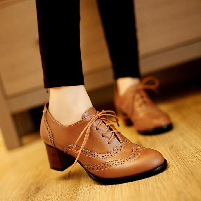 Womens Oxford Shoes Size  Pointed Toe