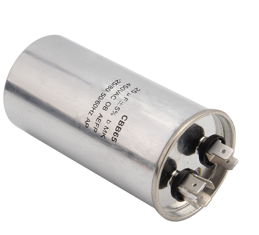 40uF Run Capacitor ICAR P2 Metal//Aluminium 400//450//500V motor air pump fan