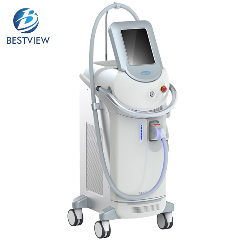 No Pain Fast 808 nm Class 4 Laser Diode Hair Removal Machine