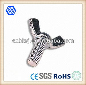 Stainless Steel Wing Nut Bolt Fasteners
