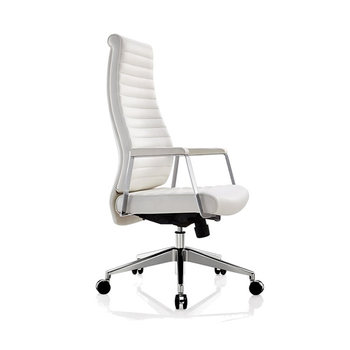 Tremendous Luxury High Back White Leather Office Chair For Tall People Buy Luxury Reclining Office Chair Genuine Leather Rocking Office Chair Wooden Executive Caraccident5 Cool Chair Designs And Ideas Caraccident5Info