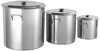 Large Size Single bottom Stainless Steel Soup Pot With Handle