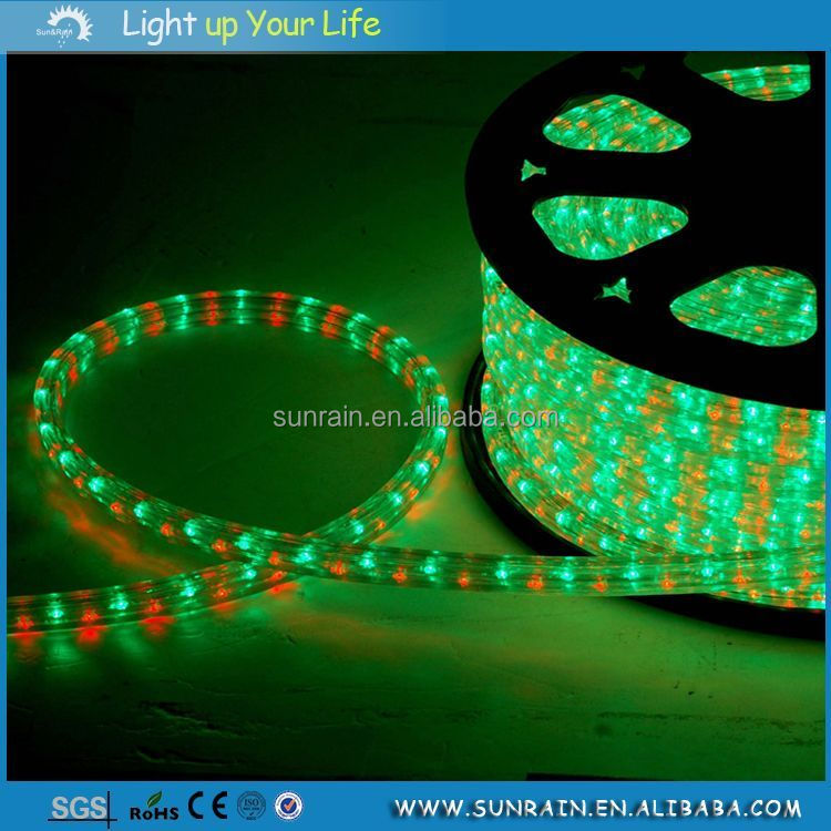 2016 Rgb Color Changing Crazy Led Lights Flat 3 Wires Led Rope ...