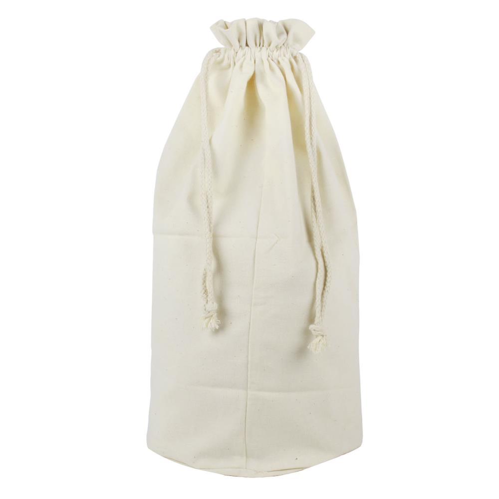 a4ef222359c1 Wholesale-Umiwe Customizable Large Rice Bag Canvas Drawstring Tote Cinch  Sack Bag Support Logo Printing,Creamy White