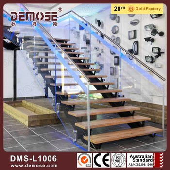 automatic led stair lighting. Automatic Led Stair Lighting Glass Treads Floating Stairs
