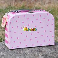 2016 wholesale baby wooden storage boxes toys lovely wooden storage boxes toys pink kids wooden storage boxes toys W08C171