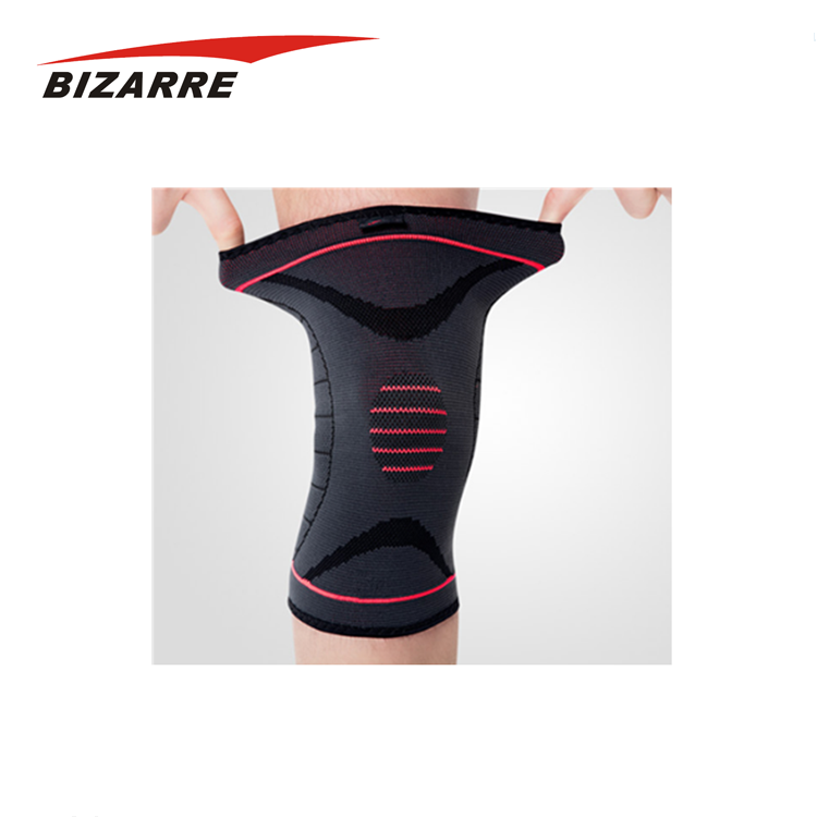 Low MOQ Basketball Knee Sleeve / Strengthen Breathable Kneepad