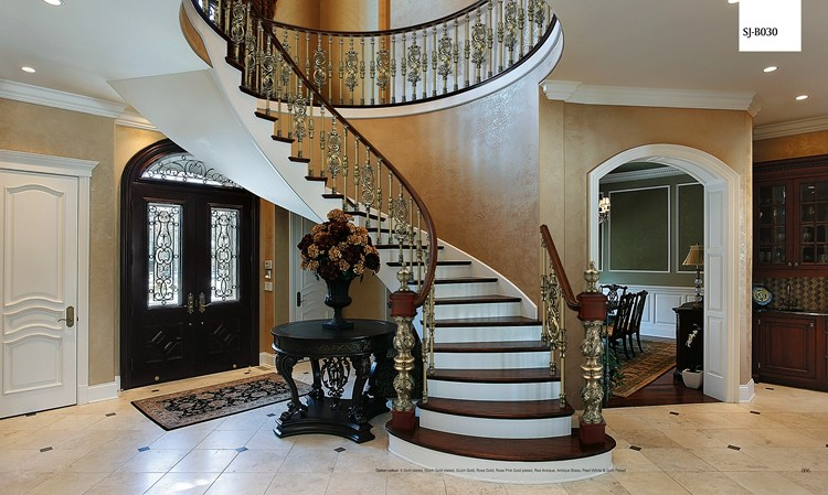 cheap price interior stairs railing designs decorative indoor stair railings prefab metal stair. Black Bedroom Furniture Sets. Home Design Ideas