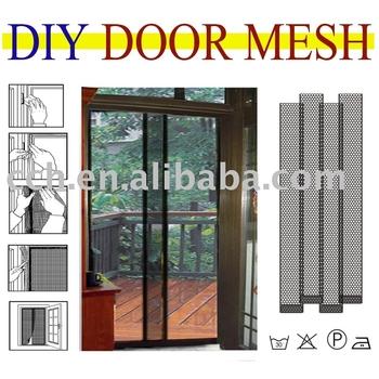 Diy door screen buy door screen curtain double door for Buy screen door