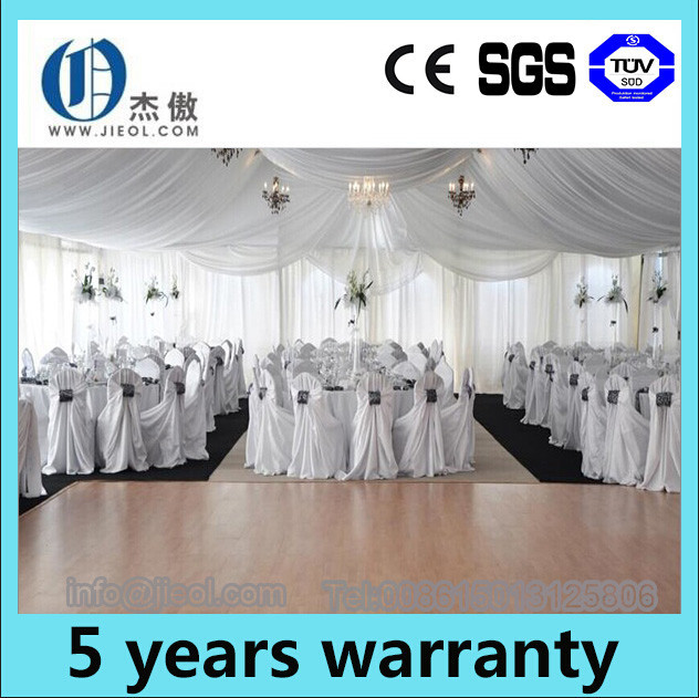 2015 wooden flooring and VIP cassette flooring optional party tent for sale with a lowest price in China
