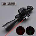 4 12X50 EG Tactical Riflescope Red And Green Dot Optics Rifle Scope with Holographic 4 Reticle