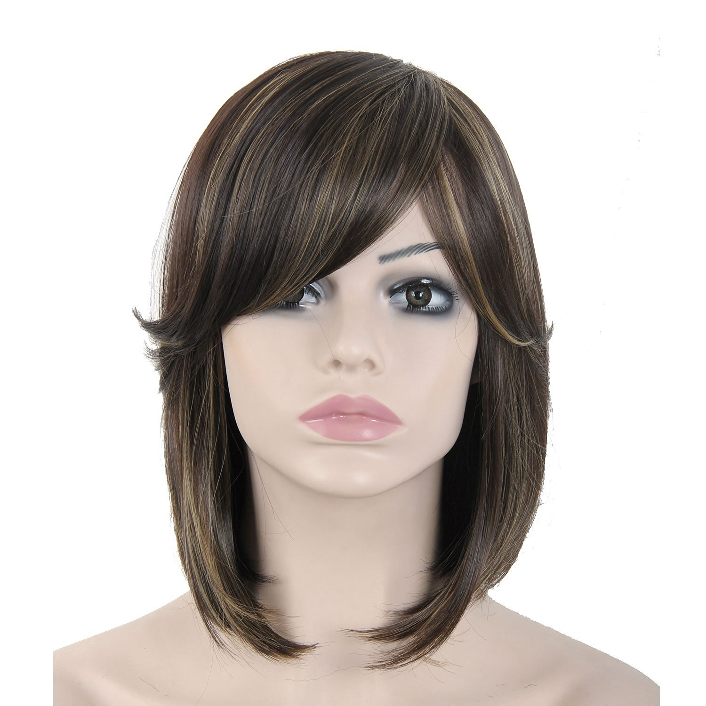 Get Quotations · Sexy Girls Women Wigs Human Hair Extensions Short Wigs  Sexy Girls Women Wigs Human Hair Extensions 81fed4a758