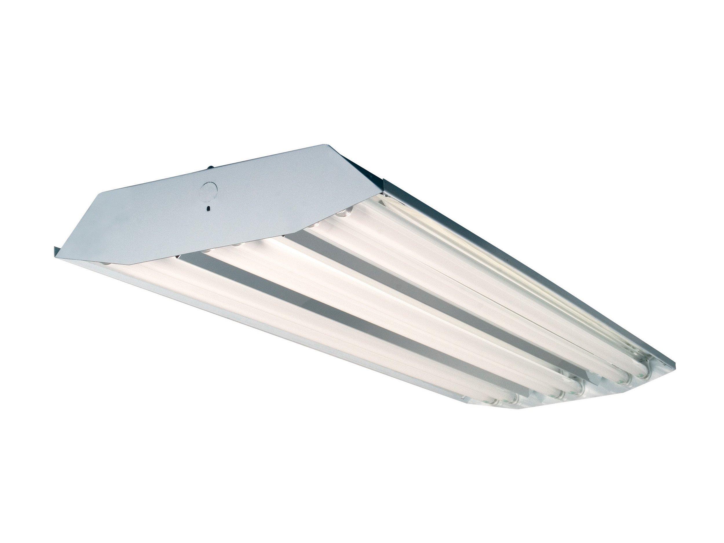 Howard Lighting HFA3E654PAPSMV000 6 Lamp High Bay Fluorescent Standard Specular Aluminum Reflector
