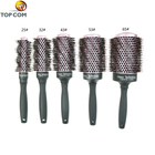 Japanese fashion plastic bristle hair brush ceramic