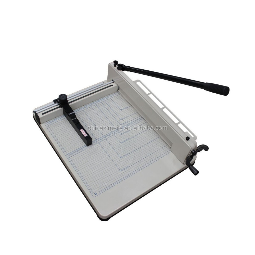 858 A4 guillotine 40mm thinkness paper cutter