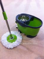 Korea floor rotation mop factory SPIN ROTATE MAGIC MOP, HEAD & BUCKET TILE VINYL WOOD DRY WET FLOOR CLEANER