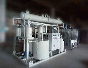 LYE-10000 Used Lube Oil Cleaning Plant / Oil Recovery Equipment / Oil Purifier System Device