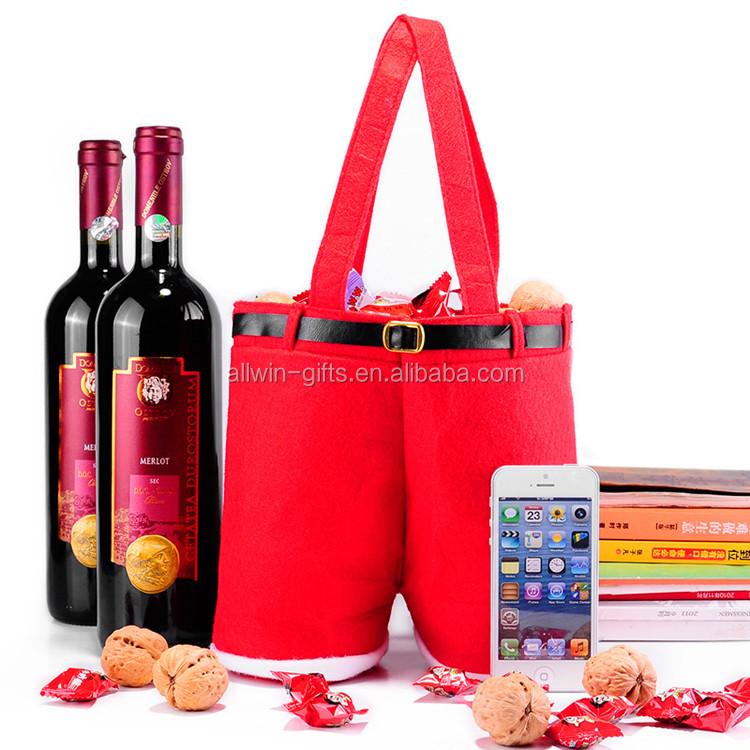 Billige Personifizierte Phantasie Weihnachten Fühlte Weinflasche ...
