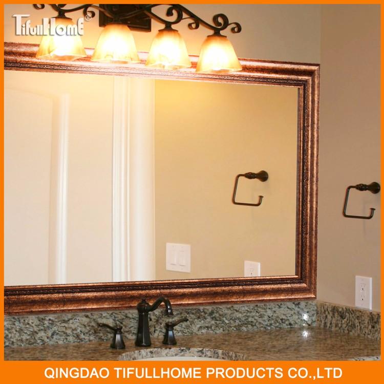 Europese antieke zilveren decoratieve badkamer muur spiegel bad spiegels product id 60443223673 - Decoratieve spiegel plakken ...