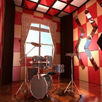Studio soundproof noise insulation acoustic PET panel