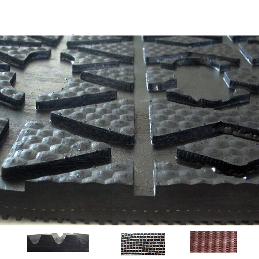 Agricultural wear-resistant high performance livestock products/rubber pads