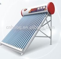unpressurized vacuum tube solar water heater balcony solar collector for solar water