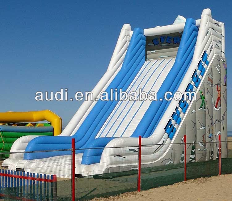 Inflatable Everest Slide: Aufblasbare Rutsche Everest, Aufblasbare Rutsche-Trampolin