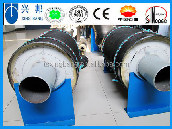 aluminum foil jacket calcium silicate insulation section pipe