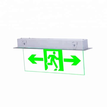 LST model 135 led rechargeable fire emergency sign light of safety exit evacuation indicator