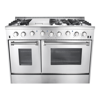 Best 48 Inch Gas Range With Oven For S
