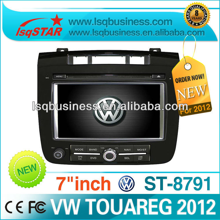 Car media player for Volkswagen Touareg 2012 with MP3 GPS TV MP4 USB Radio DVD,ST-8791