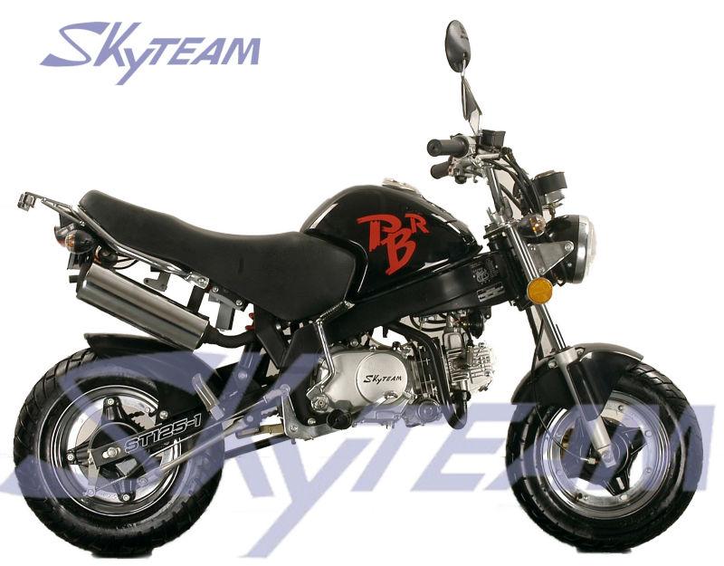 skyteam 125cc 4 stroke pbr zb50 ksr style monkey bike eec. Black Bedroom Furniture Sets. Home Design Ideas