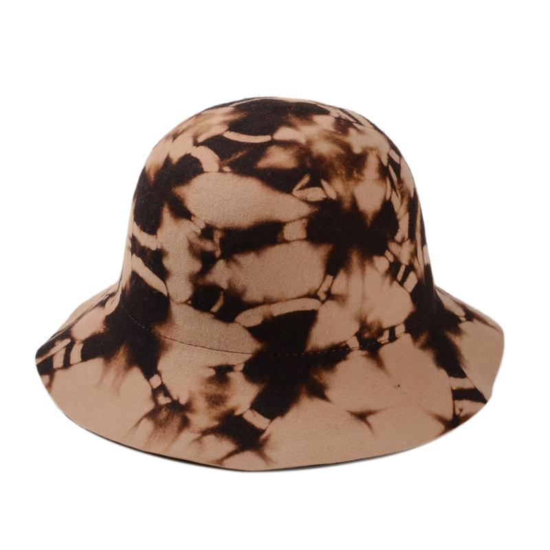 d0742820a7ecd6 Get Quotations · Fashion Vintage Lady Girls Wide Brim Wool Felt Bowler Hat  flower Fedora Hat Floppy Cloche 100