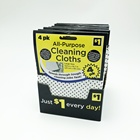 cleanroom wipes/dish cleaning pad/housekeeping cleaning products with PP dots