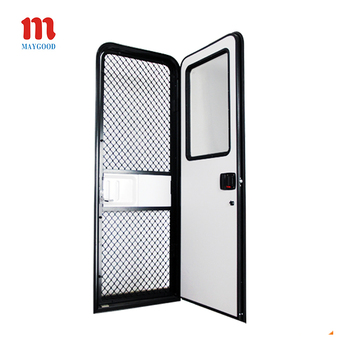MG09RD Motorhome Caravan RV entry Door with Tempered Glass Window  sc 1 st  Anhui Maygood RV Accessories Co. Ltd. - Alibaba & MG09RD Motorhome Caravan RV entry Door with Tempered Glass Window ...