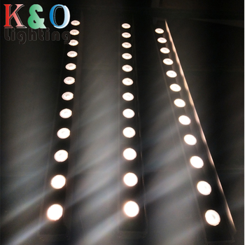 customized 9W RGBW 4 in 1 dmx controlled rgb led wall washer light for bidding item